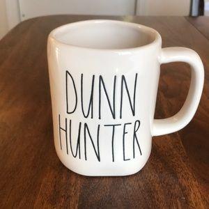 Rae Dunn DUNN HUNTER mug NWOT